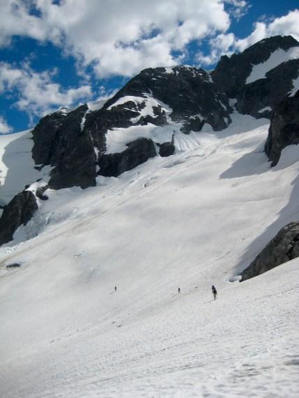 Traversing Whatcom Glacier