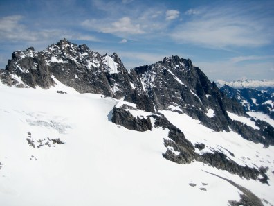 Crooked Thumb and Phantom Peak From Solar Pass