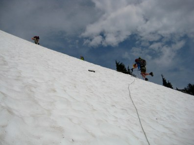 Descending From Picket Pass
