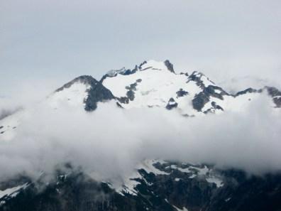 East Fury Peak From Summit Of Rhino Butte
