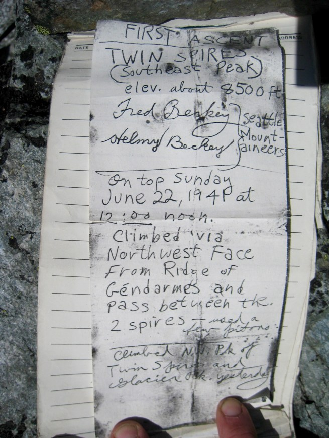 Summit Register Historical First Page