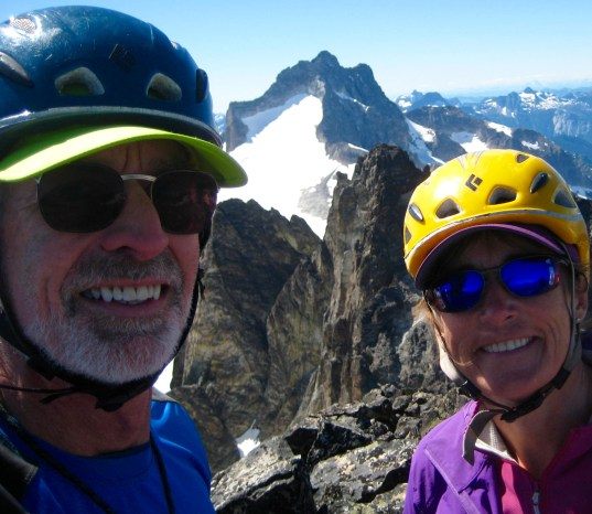 Jim & Eileen On Hard Mox Peak Summit