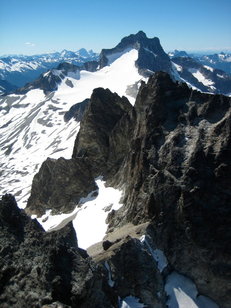 Mt Redoubt & Col Of The Wild From Hard Mox Summit