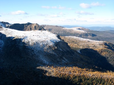 Stone City Arm & Ladyslipper Lake From Ovis Mtn