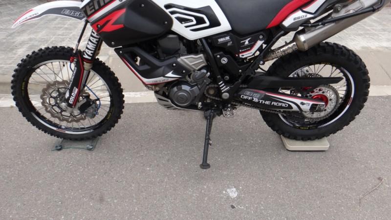 Ampliaci/ón de Pata Lateral para Yamaha XT660Z Tenere