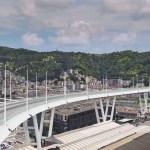 Il Ponte San Giorgio a Genova