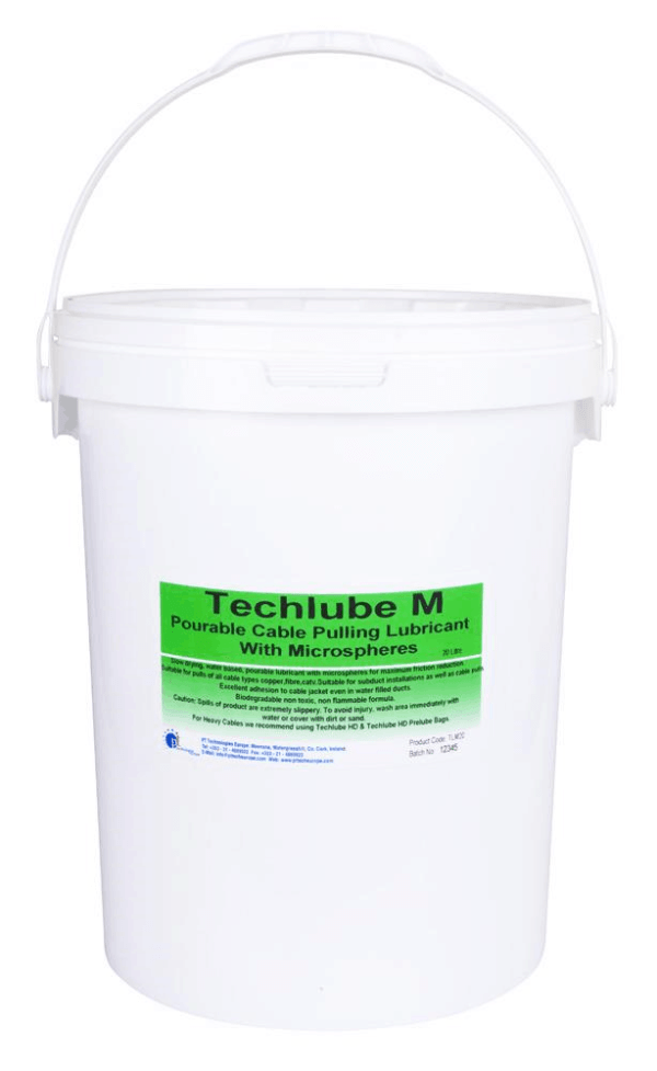 Techlube M Cable Pulling Lubricant with Microspher