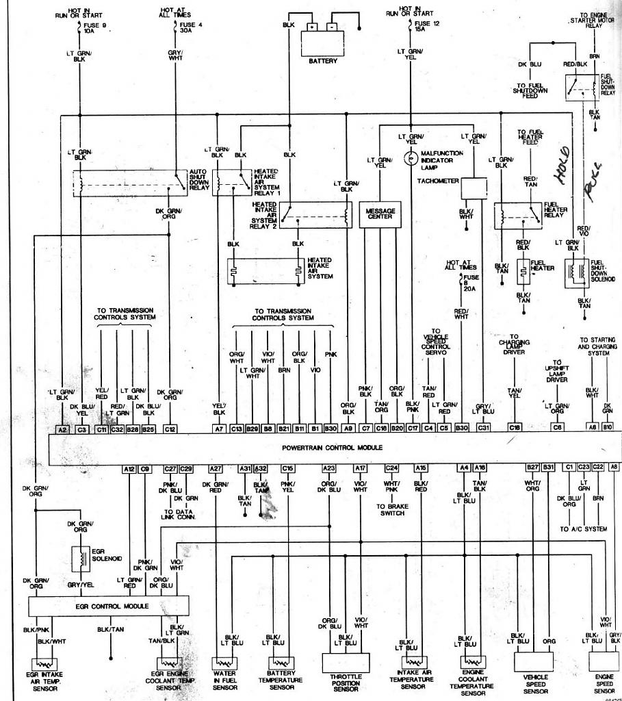 1998 ram alternator wiring diagram