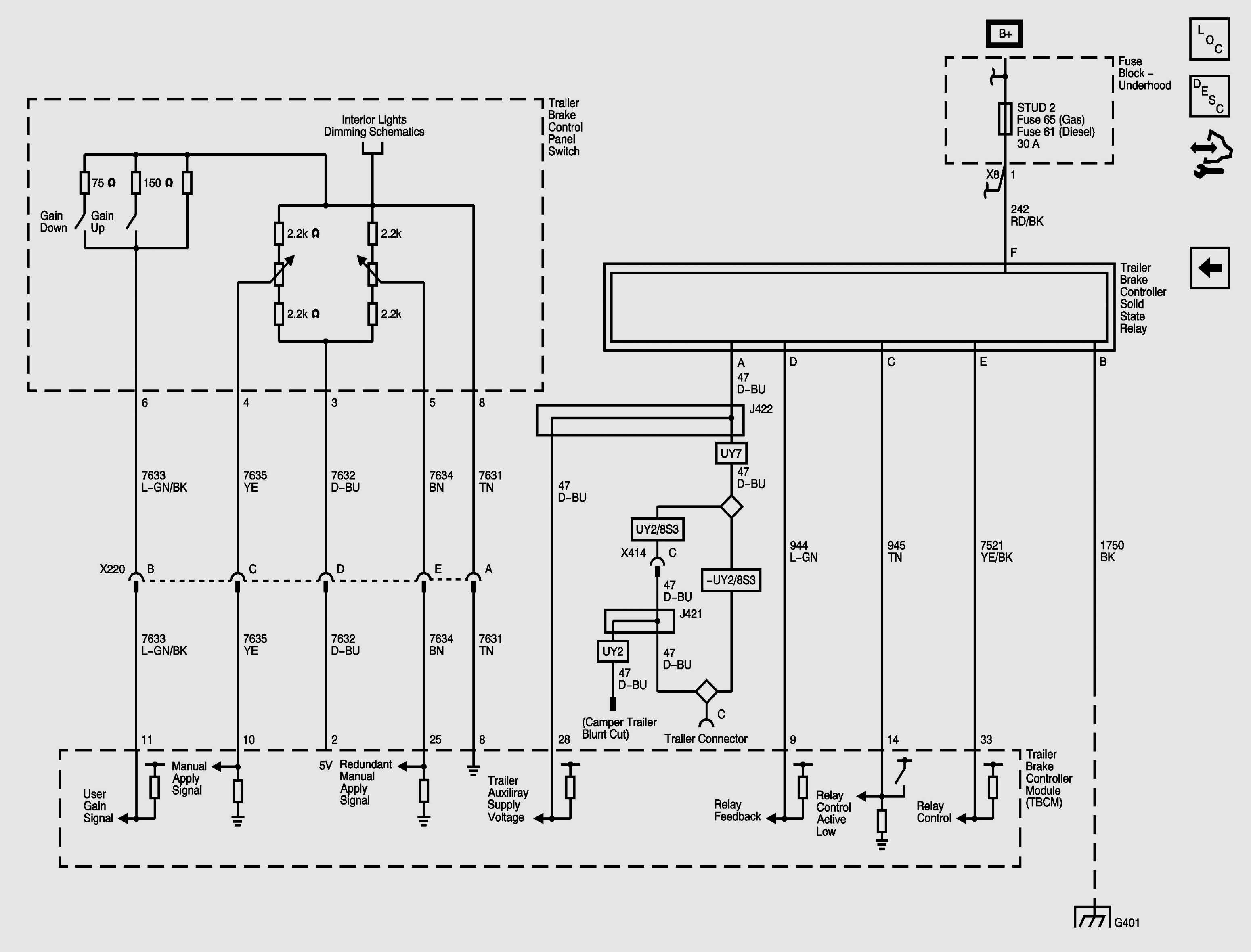 Brake Controller Wiring Diagram Chevy