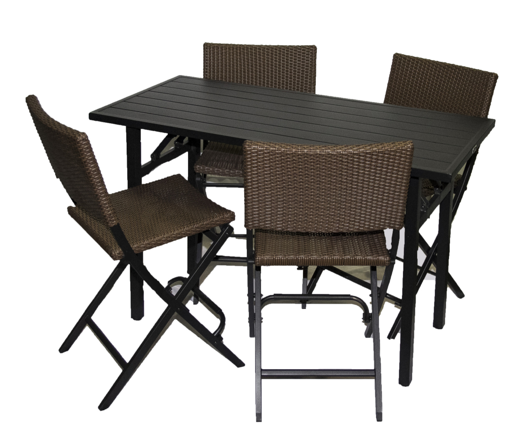 Bar Height Patio Set  Trailer Events