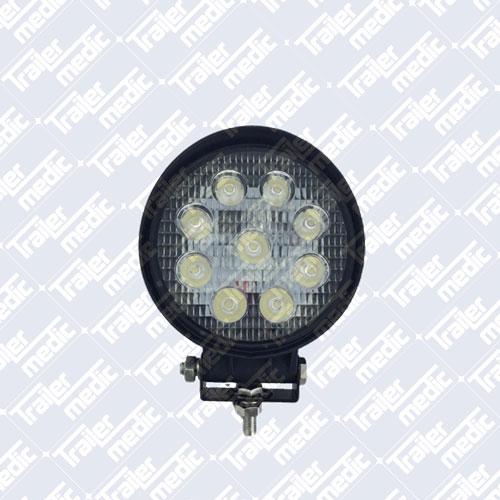 12/24v 27W LED Worklamp - Spot
