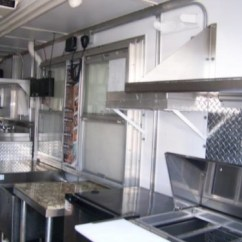 Used Kitchen Equipment Miami Island Table With Seating 16ft Fully Loaded Food Truck - Trailerocity.com