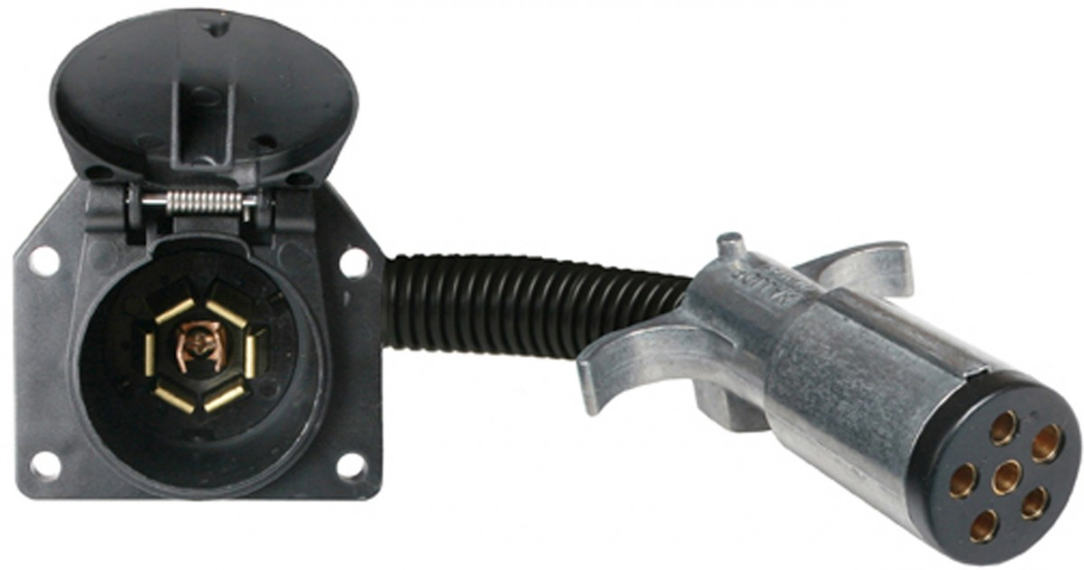 4 way flat to 7 round adapter wiring diagram vw pertronix 5 pin trailer wiring, 5, get free image about