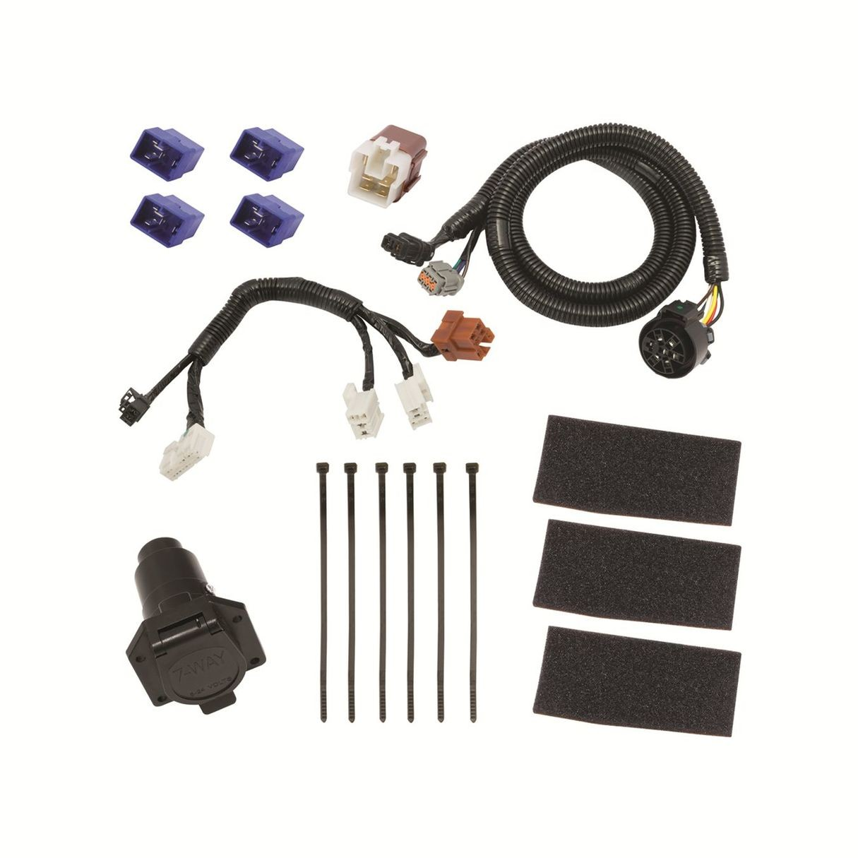 hight resolution of tekonsha 118273 tow harness
