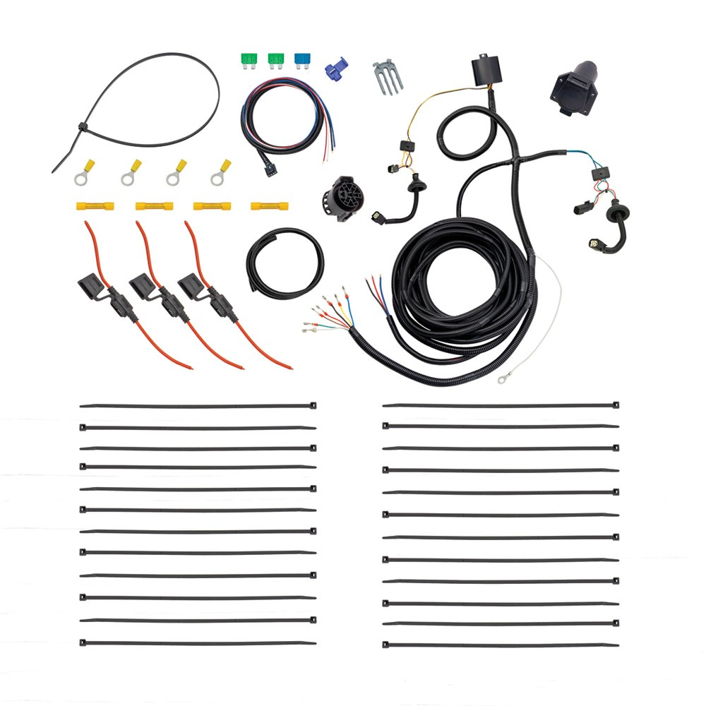 hight resolution of tekonsha 22114 tow harness 7 way prep kit