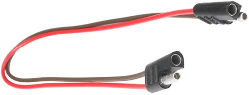 small resolution of 12 wire harness 2 way flat connector car and trailer end loop motorcycle wiring harness for 1993 honda xr100r 2 wire wiring harness