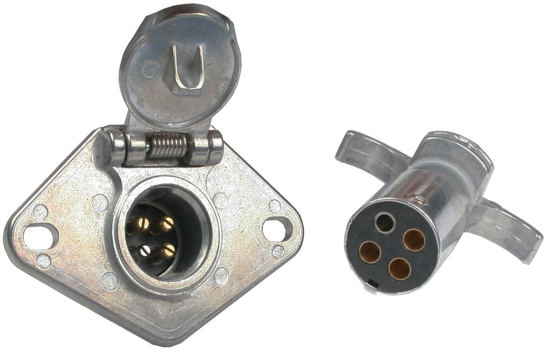 Wiring Diagram For 4 Pin Trailer Plug Trailer Wiring Amp Electrical