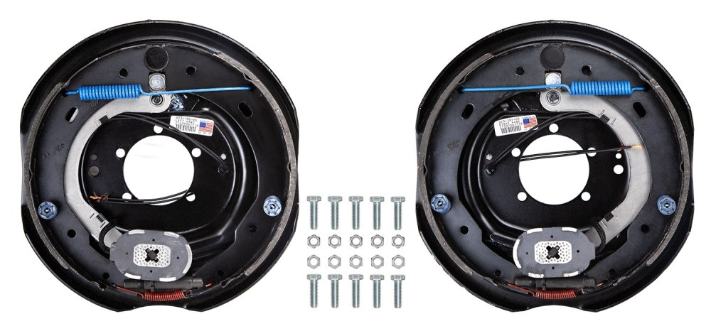 medium resolution of dexter 12 x 2 electric trailer brake kit left right hand assemblies 7 000 lbs axle capacity