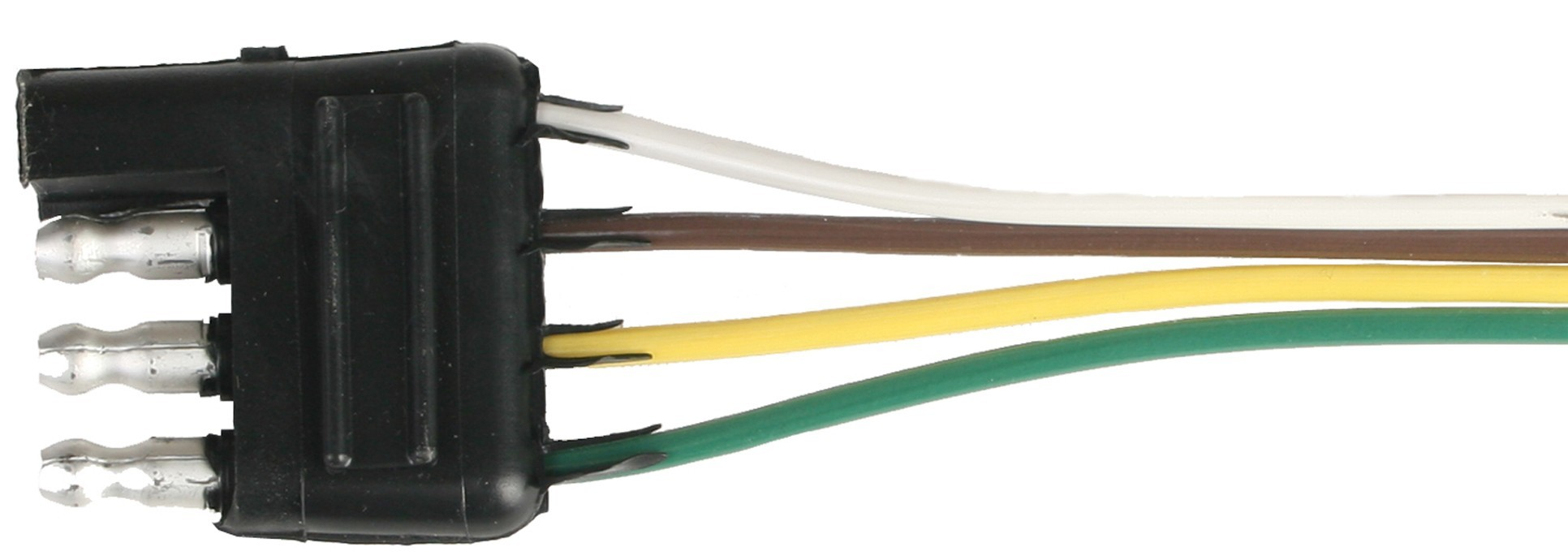 hight resolution of 25 wire harness 4 way flat car end connector