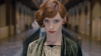 Eddie Redmayne will look to win consecutive Oscars with The Danish Girl