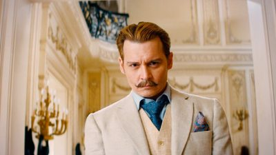 Johnny Depp goes characteristically offbeat as the flamboyant lead in Mortdecai