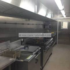 Portable Kitchen Sink Racks Trailer Tech Uk Commercial Kitchens For Hire Wales 7m Long X 3m Wide High Spec