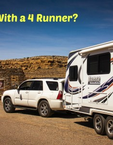All the way to chaco canyon we made it also towing  travel trailer with cyl toyota runner traveler rh trailertraveler