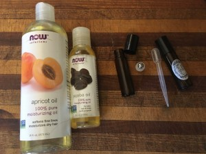 Supplies for making roll-on essential oils