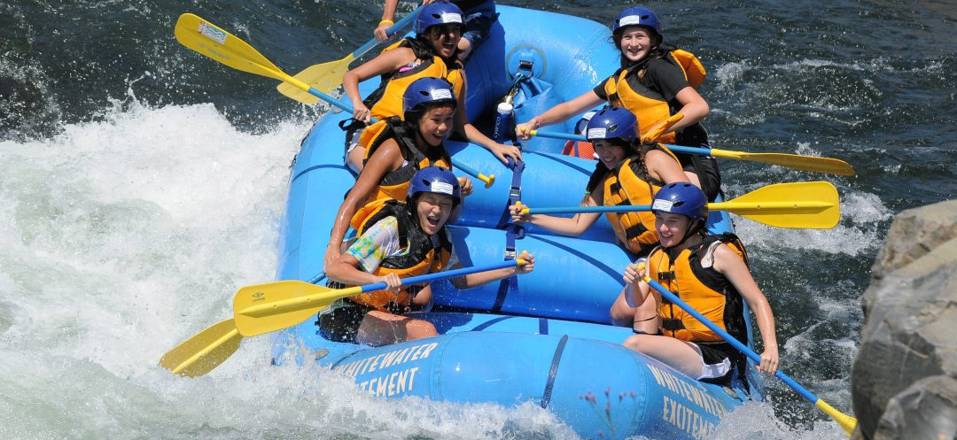 Girl Scouts White Water Rafting