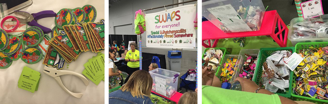 Girl Scout Convention SWAPS