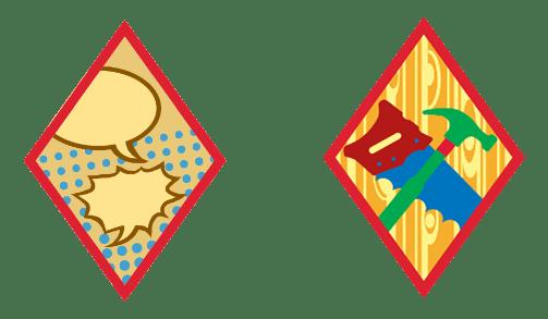 Cadette Artist Badges