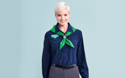 Where to Place Insignia on a Girl Scout Adult Uniform