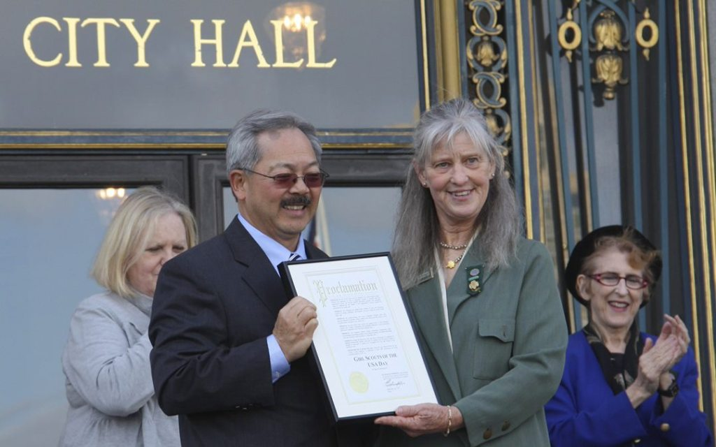 With Former Mayor Ed Lee