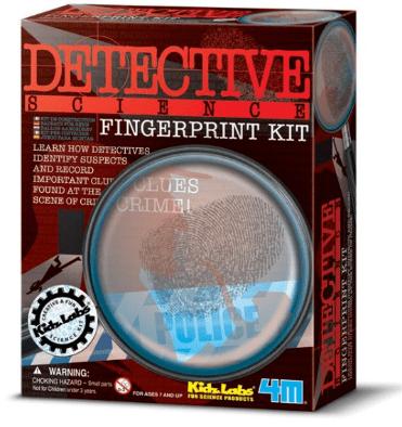 kidzlab fingerprint kit