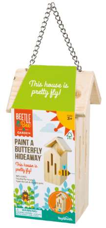 Paint-a-Butterfly Hideaway