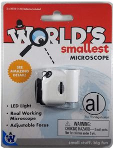 smallest microscope