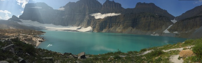 Panorama of Grinnell Glacier
