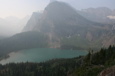 Overlook of Grinnell Lake