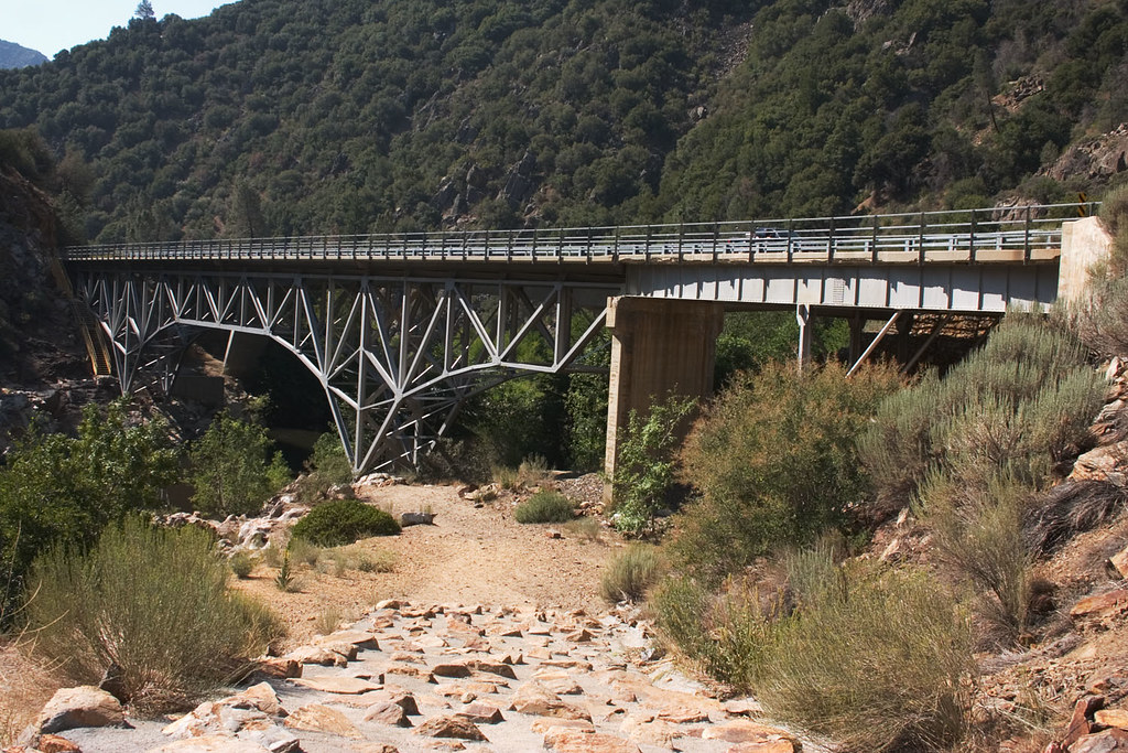 Sequoia National Forest - Johnsondale Bridge