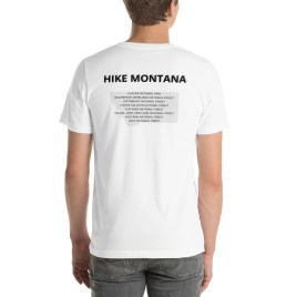 Trailhead Traveler – HIKE MONTANA – Unisex T-Shirt