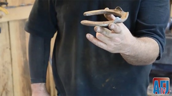 Ontario farrier Russ Gaudet discusses how he uses readi...