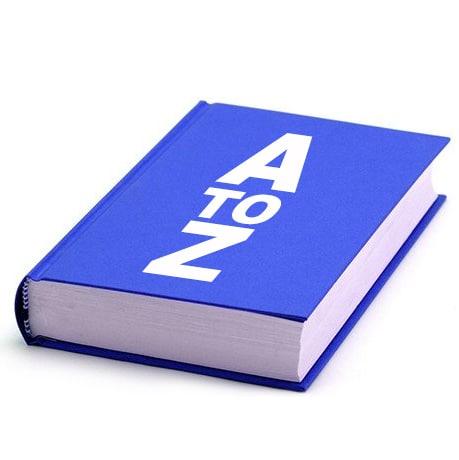 Vandre ordbog
