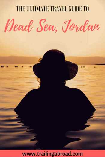 Dead Sea travel guide