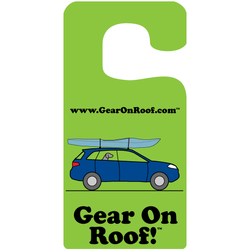 Gear On Roof Green Trailism