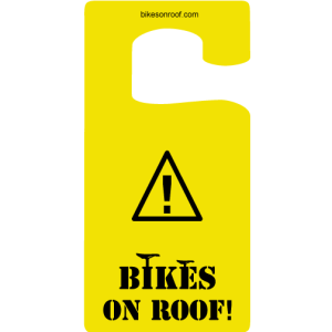 Bikes On Roof