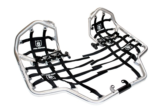 Yamaha YFZ450 Revolution Nerf Bars W/ Heel Guard Nets