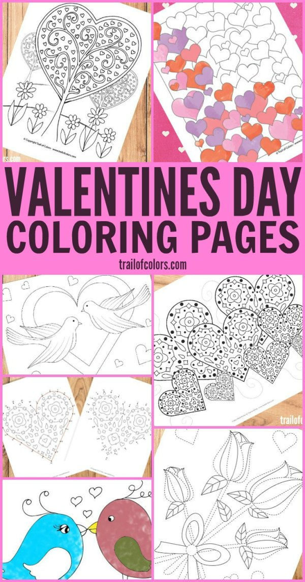 printable valentines day coloring pages # 54