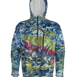 1/4 Zip FlexFleece Fish Adventure Hoodies