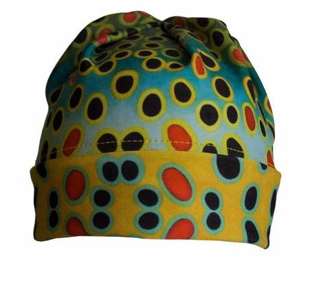 Brown Trout Beanie, Hat, Clothing,