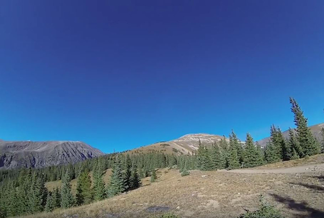 quandary Peak trail, white river national forest,